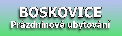Ubytov�n� v Boskovic�ch o pr�zdnin�ch